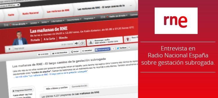 Entrevista Radio Nacional