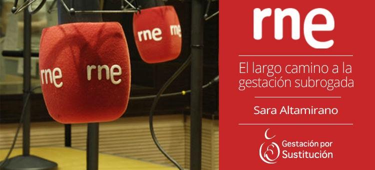 Entrevista a Sara Altamirano, Gestación Sustituta en Radio Nacional