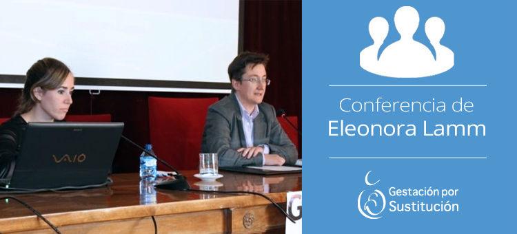 Conferencia de Eleonora Lamm sobre gestación por sustitución